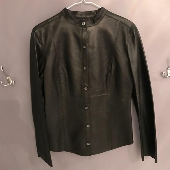 Express Jackets & Blazers - Express Leather jacket
